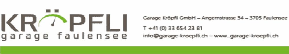 Garage Kröpfli - Faulensee