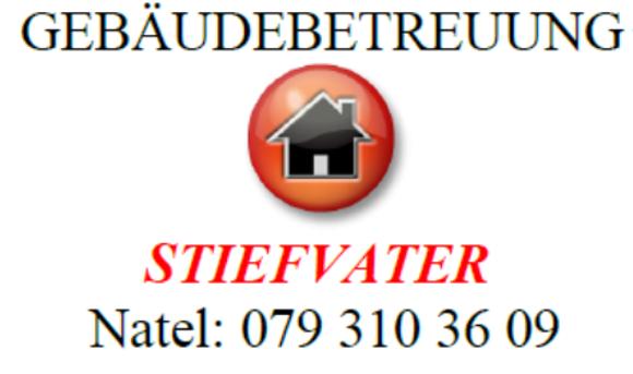 Gebäudebetreuung Stiefvater