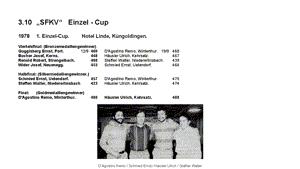 3.10 - Das goldene Buch der SFKV Einzel-Cup
