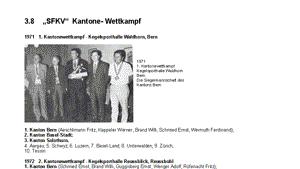 Das goldene Buch - SFKV-Kantonewettkampf