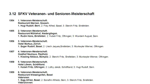 3.12 - Das goldene Buch der SFKV Senioren- &  Veteranen-Meisterschaft