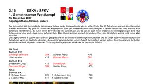3.16 - Sportanlässe der SFKV / SSKV