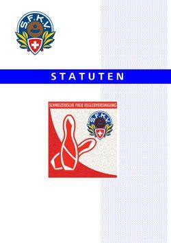 Statuten der SFKV